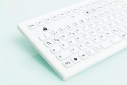 Hygiënisch verlicht toetsenbord met toetsaanslag van standaard ...
