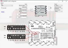 PR electronics 3000 serie Dip-Switch configurator Software